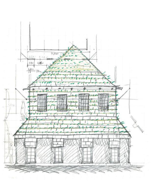 fujimori-terunobu-dandelion-house-sketch